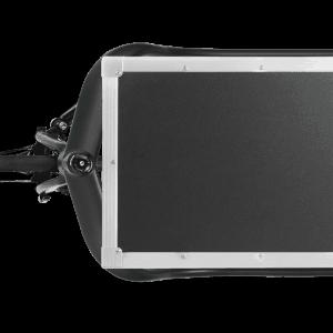 triobike cargo r with flightcase top